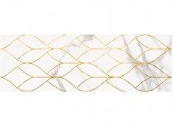 Плитка 1664-0156 Миланезе декор тресс Каррара 20х60