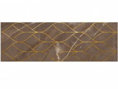 Плитка 1664-0158 Миланезе декор тресс Марроне 20х60