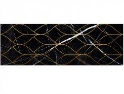 Плитка 1664-0159 Миланезе декор тресс Неро 20х60