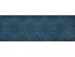 Плитка 1664-0180 Парижанка декор Геометрия синий 20х60