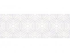 Плитка 1664-0183 Парижанка декор Геометрия белый 20х60