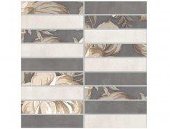 Плитка 1932-0012 Фиори Гриджио мозаика 30х30