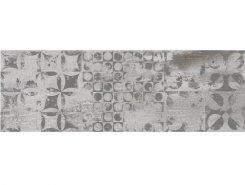 Плитка 6664-0103 Грей Вуд декор темно-серый 20х60