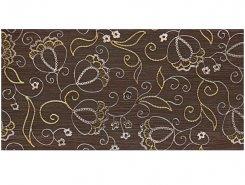 Плитка Декор Наоми коричневый 19,8х39,8