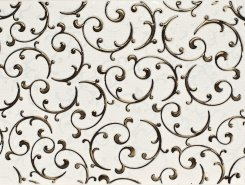 Плитка 1645-0095 Декор Анастасия орнамент крем 25х45