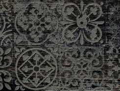 Плитка 3606-0022 Декор Венский лес черный 19,9х60,3