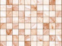 Плитка 5032-0201 Орнелла мозаика коричневый 30х30