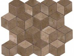 Плитка Декор Delux Bronze Tessere Rombi 26х28