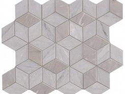 Плитка Декор Delux Grey Tessere Rombi 26х28