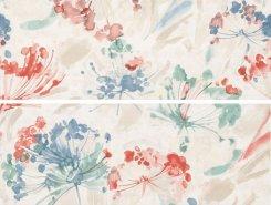 Плитка Декор Desire White Fiore (комп/2шт) 30,5х56