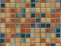 K029464 Colorline D.Tobacco-D. Blue Mix 3 30х30(2,5х2,5)