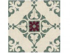 Плитка Декор 8332 Jolie Ivoire Vert Trama (комп/4шт) 10х10