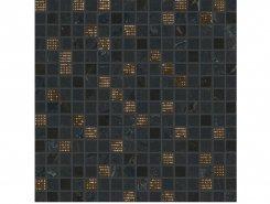 Плитка Декор Newluxe Black Tessere Riv 30,5х30,5