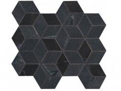Плитка Декор Newluxe Black Tessere Rombi 26х28