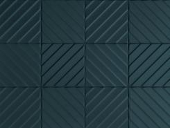 4D Diagonal Deep Blue 20х20