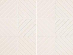 4D Diagonal White 20х20