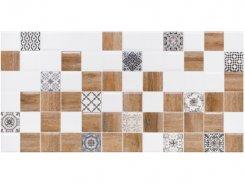 Плитка 1041-0239 Астрид декор 2 белый 20х40