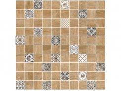 Плитка 5032-0290 Астрид мозаика гл. декор натуральный 30х30