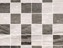 Плитка K946627LPR Bergamo Мозаика Теплый Микс 30х30