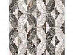 Плитка K946629LPR Bergamo Геометрический Микс Декор Теплая гамма ЛПР 60х60