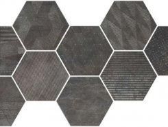 HEXAGON FREEPORT BLACK 24X27,7