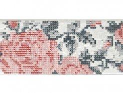 Плитка INS.S-1 FLOWERS WHITE 8,6X26,2