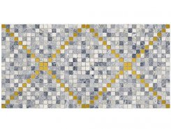 Плитка Arte Декор тёмно-серый 08-04-06-1369 20х40