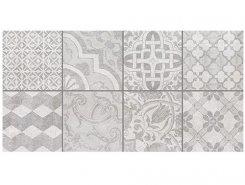 Плитка Bastion мозаика серый 08-03-06-453 20х40