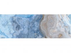 Плитка Blues голубой 25х75