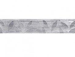 Плитка Bona Бордюр тёмно-серый 66-03-06-1344 6,2х40