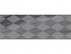 Плитка Декор Agat Geo серый 20х60