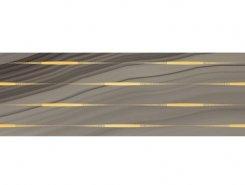 Плитка Декор Agat Lines кофейный 20х60