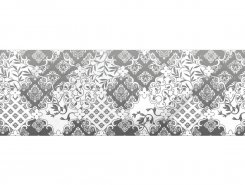 Плитка Декор Cassiopea Fancy серый 20х60