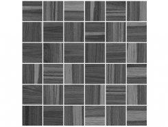 Плитка Мозаика Blackwood чёрный 30х30