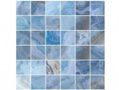 Плитка Мозаика Blues голубой 30х30