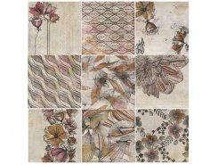 Плитка Decor Zen Beige (Mix 9) 20x20