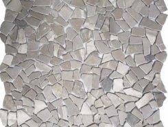 CV20256 Natural Mix Tumbled Snow Gray