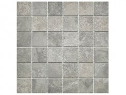 Плитка Velvet Mosaico Platinum 5x5 30x30