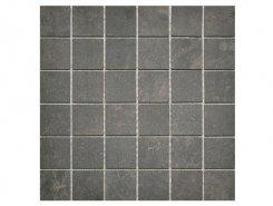 Плитка Velvet Mosaico Charcoal 5x5 30x30