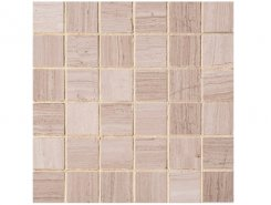 Mos. Light Wooden Vein Polished 5x5 30.5x30.5