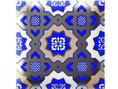 Decor Nilo Blu 15x15