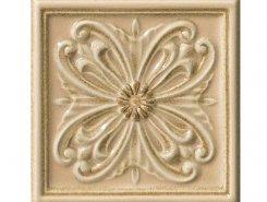 Плитка Rialto Crema Form. Floreale Pain. 15x15