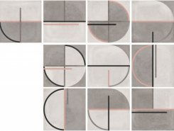 Плитка Buho Brown Decor 22,3x22,3