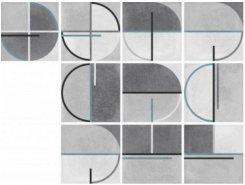 Плитка Buho Grey Decor 22,3x22,3