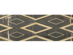 Плитка Galleria Single Black Gold 30x90
