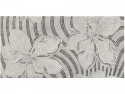 Gems Decor Flower Silver 60x120 Lapp/Rett 60x120