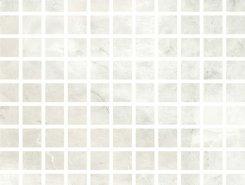 Плитка Mosaico Gems White Lapp 30х30
