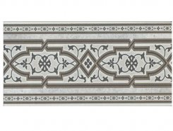 stellstufe mit dekor koblenz hellgrau 15,5x31