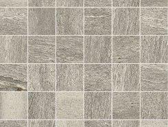Плитка Flagstone 2.0 Mosaico Grey Naturale 30x30