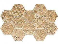 Плитка Плитка R55T Epoca Decoro cementine Ocra 21*18.2